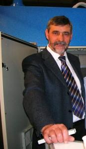 Carlo Nava - proprietario di Luniwash, azienda produttrice di Lavacentrifughe industriali