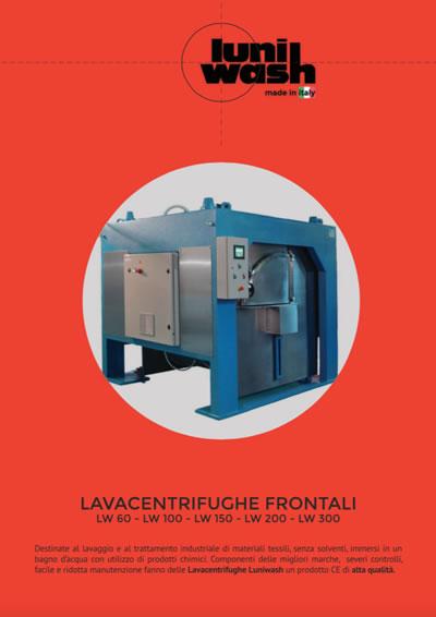 Luniwash - Depliant Lavacentrifughe Frontali