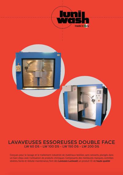 Brochure Lavaveuses essoreuses double face