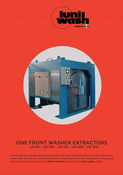 Luniwash - Download the brochure for One front washer extractors